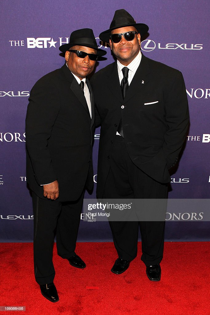 Terry Lewis and Jimmy Jam attend BET Honors 2013: Red Carpet Presented By Pantene at Warner Theatre on January 12, 2013 in Washington, DC.