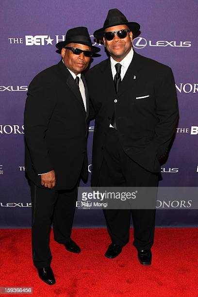 Terry Lewis and Jimmy Jam attend BET Honors 2013 Red Carpet Presented By Pantene at Warner Theatre on January 12 2013 in Washington DC