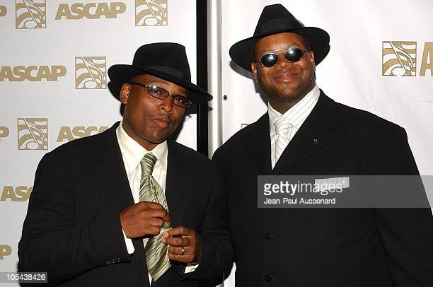 Terry Lewis and Jimmy Jam during ASCAP 18th Annual Rhythm Soul Music Awards Arrivals at Beverly Hilton in Beverly Hills California United States