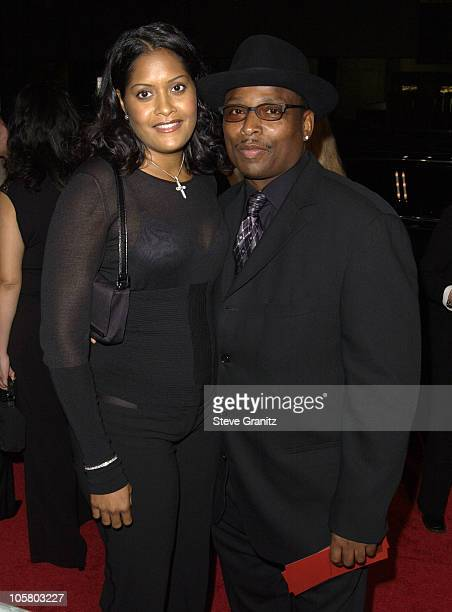 Terry Lewis Indira during 'Radio' Premiere Arrivals at Academy Theatre in Beverly Hills California United States
