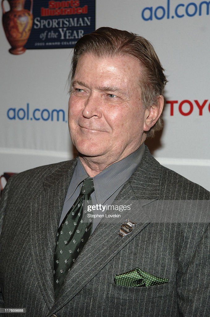 Terry McDonald managing editor of SI during Sports Illustrated 2005 Sportsman of the Year Party Arrivals at Stone Rose in New York City New York...
