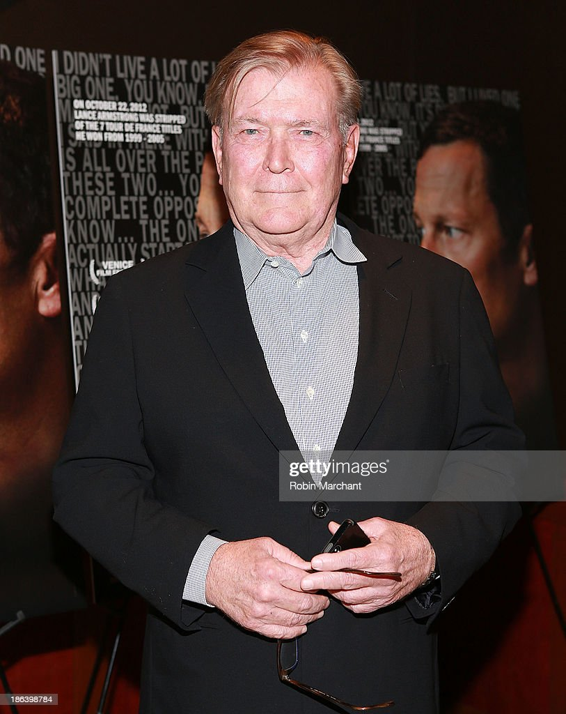Terry McDonell attends 'The Armstrong Lie' New York premiere at Tribeca Grand Hotel on October 30, 2013 in New York City.