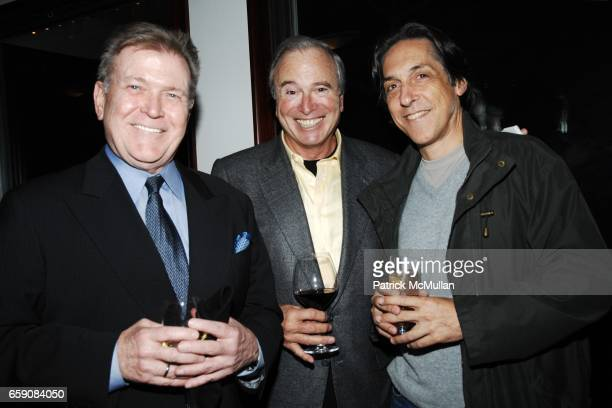Terry McDonell Ken Auletta and Tom Cohen attend Book Party hosted by Anne Hearst McInerney Candace Bushnell Nicole Miller Celebrating 'HOW IT ENDED'...