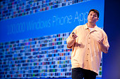 Terry Myerson Corporate Vice President Microsoft previews new features of Windows Phone 8 during the Microsoft Windows Phone Summit in San Francisco...