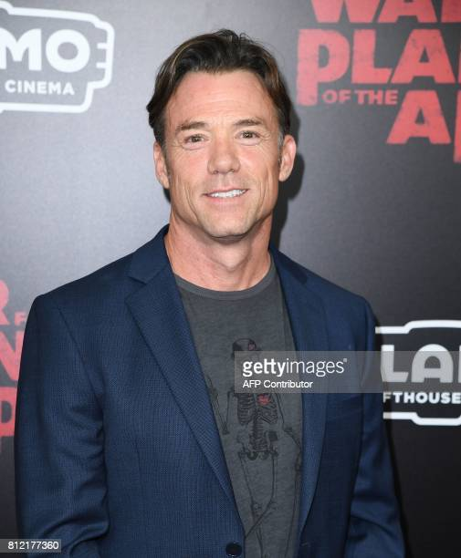 Terry Notary attends the 'War for the Planet Of The Apes' premiere at SVA Theater on July 10 2017 in New York City / AFP PHOTO / ANGELA WEISS
