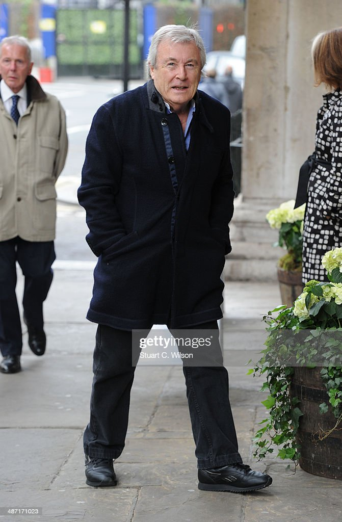 Terry O'Neill attends a memorial service for former British Vogue Editor Beatrix Miller at St George's Church on April 28, 2014 in London, England. She died aged 90 in February 2014 was the editor of British Vogue from 1964 to 1986.