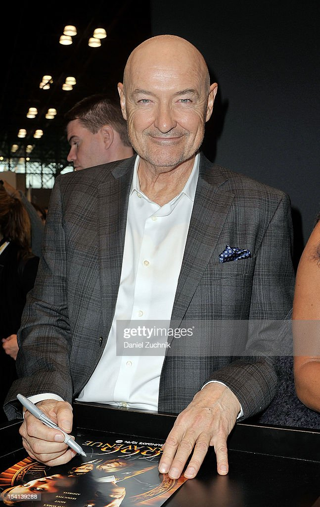 <a gi-track='captionPersonalityLinkClicked' href=/galleries/search?phrase=Terry+O%27Quinn&family=editorial&specificpeople=613081 ng-click='$event.stopPropagation()'>Terry O'Quinn</a> attends the 2012 New York Comic Con at the Javits Center on October 14, 2012 in New York City.