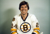 Terry O'Reilly of the Boston Bruins poses for a portrait circa 1980 in Boston Massachusetts