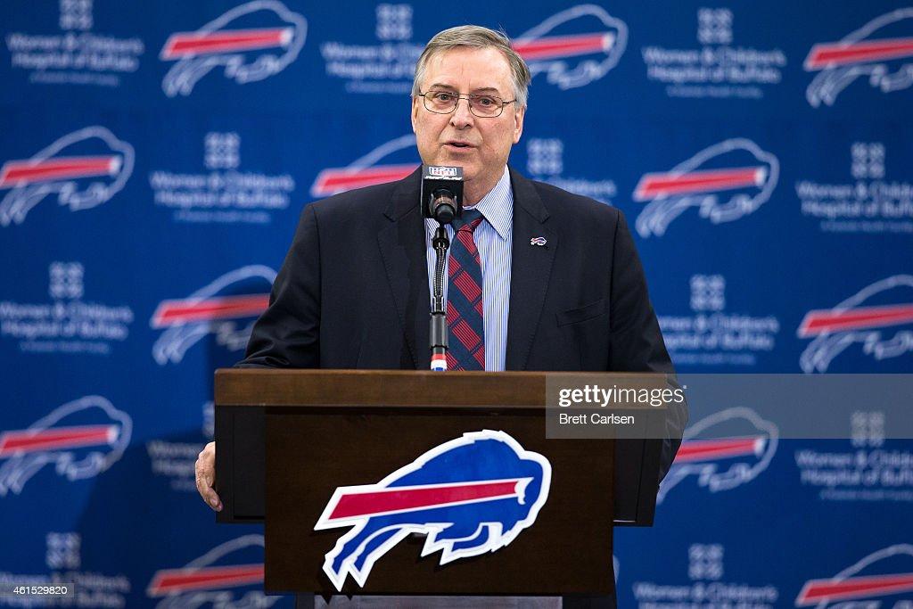 Buffalo Bills Introduce Rex Ryan : News Photo