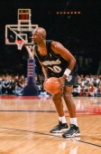 Terry Porter of the Minnesota Timberwolves during the game against the Houston Rockets on February 26 1998 at Compaq Center in Houston Texas