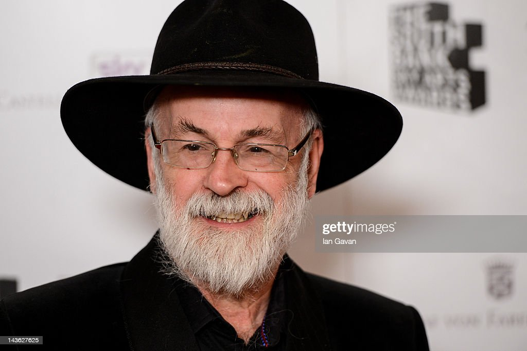 Terry Pratchett attends the South Bank Sky Arts Awards at Dorchester Hotel on May 1, 2012 in London, England.