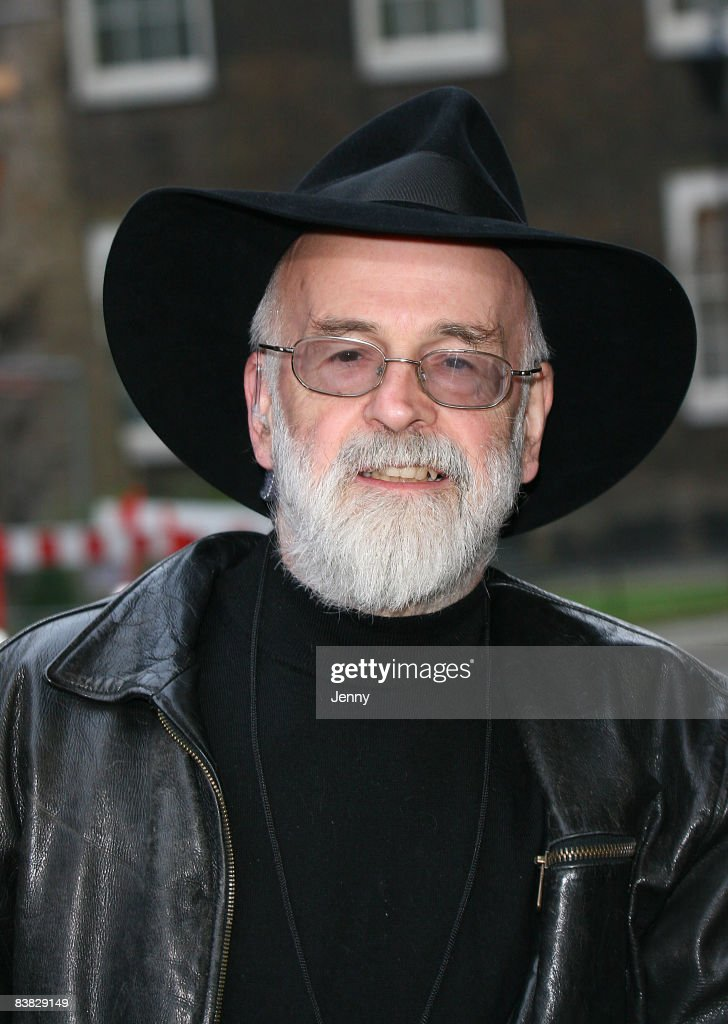 Terry Pratchett Delivers Petition To Downing Street