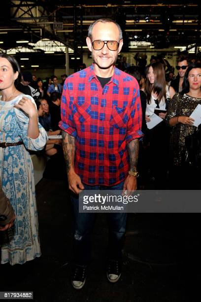 Terry Richardson attends ALEXANDER WANG Spring 2011 Fashion Show at Pier 94 West Side Highway on September 11 2010 in New York City