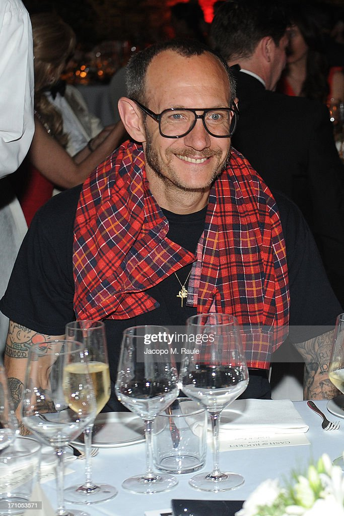 Terry Richardson attends Cash & Rocket On Tour Women for Women - Gala Dinner and Auction on June 16, 2013 in Rome, Italy.