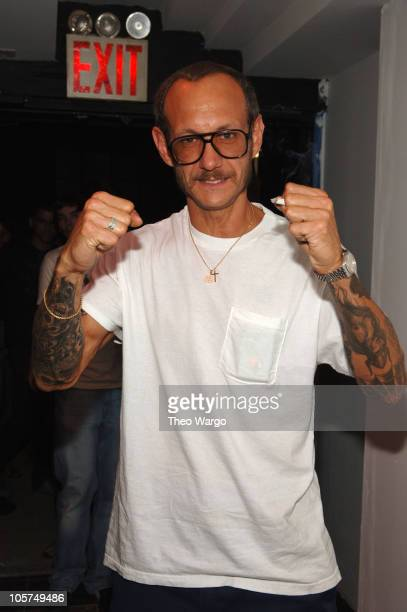 Terry Richardson during DKNY Jeans Directors Label Party at W 21st St in New York City New York United States