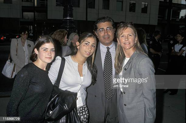 Terry Semel and Family during 'A Time to Kill' Los Angeles Premiere at The Academy in Beverly Hills California United States