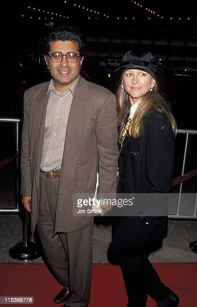 Terry Semel and Jane Semel during 'Boyz In The Hood' Premiere at Cineplex Odeon Theatre in Century City California United States