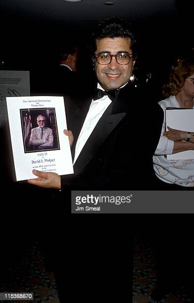Terry Semel during AFI Tribute to David Wolper May 2 1990 at Lowe's Santa Monica Hotel in Santa Monica California United States