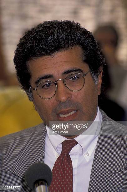 Terry Semel during Dedication of Warner Bros' Children's Center September 21 1992 at Warner Bros Ranch in Burbank California United States