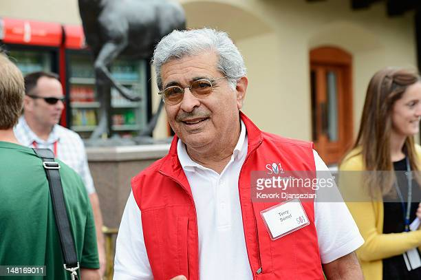 Terry Semel former chairman and CEO of Yahoo attends the Allen Company Sun Valley Conference on July 11 2012 in Sun Valley Idaho The conference has...