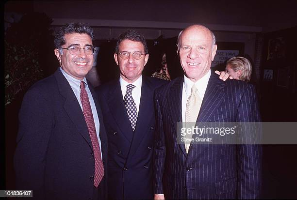 Terry Semel Ron Meyer Barry Diller during APLA's 'TenYear Commitment to Life' Gala Benefit at Universal Amphitheatre in Universal City California...