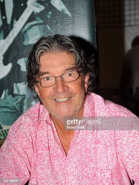 Terry Sylvester of The Hollies attends the 2010 Rock Con The National Rock Roll Fan Fest at the Sheraton Meadowlands Hotel Conference Center on July...