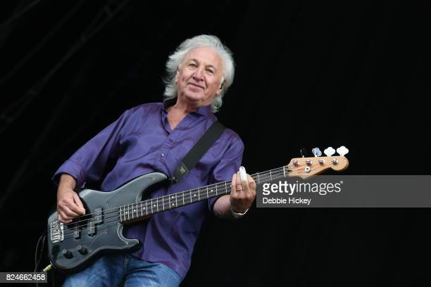 Terry Uttley of Smokie performs during Punchestown Music Festival at Punchestown Racecourse on July 30 2017 in Naas Ireland