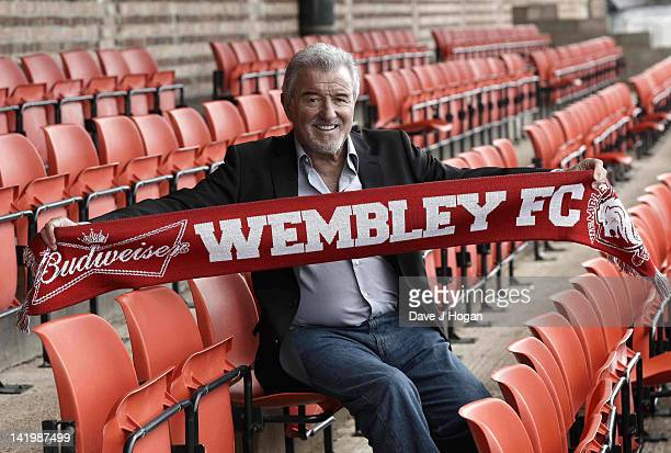 Terry Venables returns to UK football as coach of nonleague Wembley FC to see how far he can take them in The FA Cup with Budweiser at Vale Farm on...