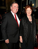 Terry Wogan and wife attend the opening night of 'Oliver' at the Theatre Royal on January 14 2009 in London England