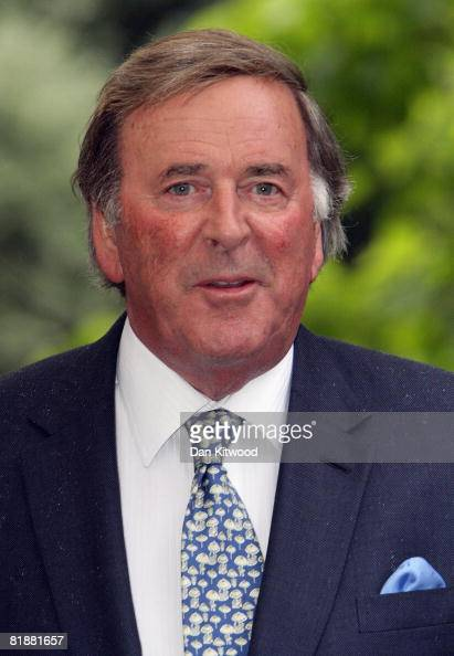 Terry Wogan attends Sir David Frost's Summer Party at Carlyle Square on July 09 2008 in London England
