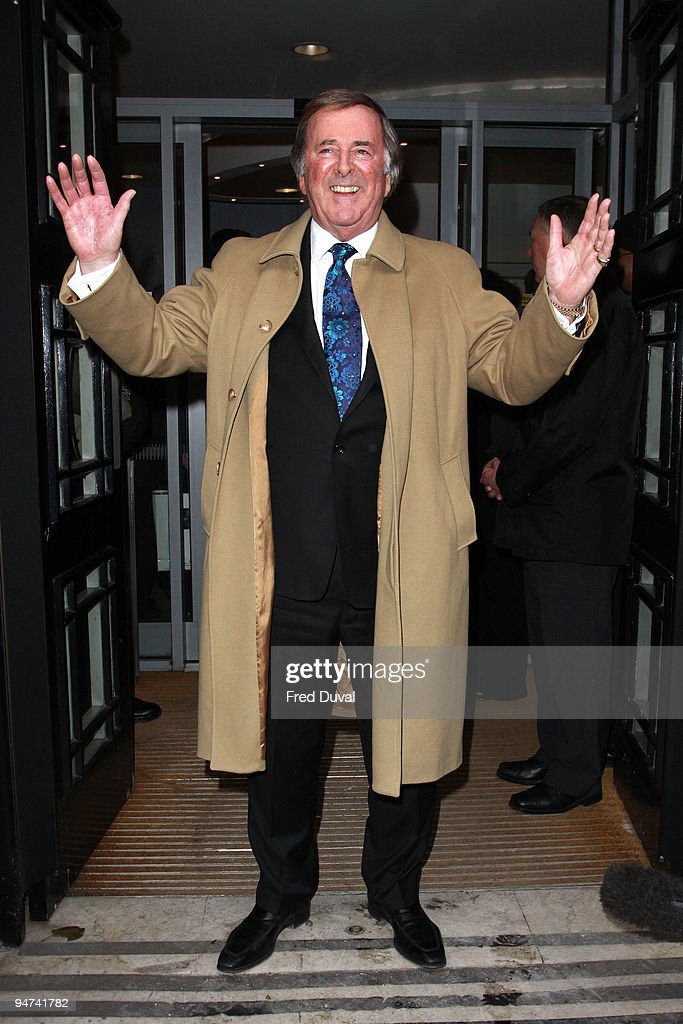 Terry Wogan Sighted On The Last Day Of His Radio 2 Show - December 18, 2009