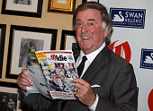 Terry Wogan poses for photographs as he attends the 'Oldie of the Year Awards 2011' at Simpsons on February 10 2011 in London England