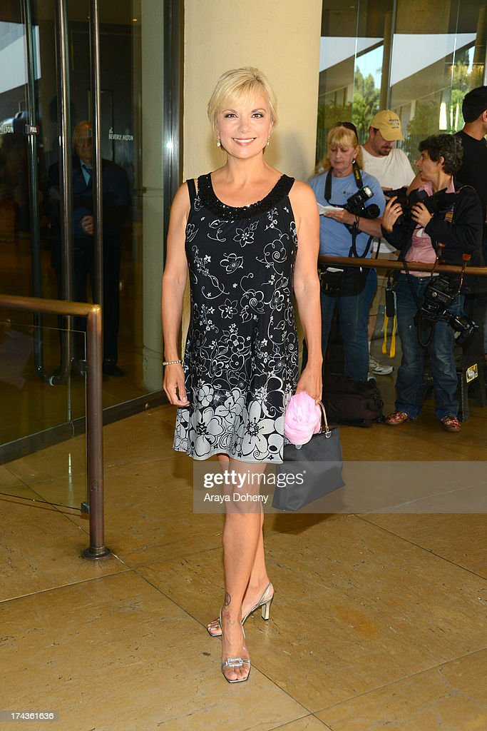 Teryl Rothery arrives at the Television Critic Association's Summer press tour - Hallmark Channel & Hallmark Movie Channel party at The Beverly Hilton Hotel on July 24, 2013 in Beverly Hills, California.