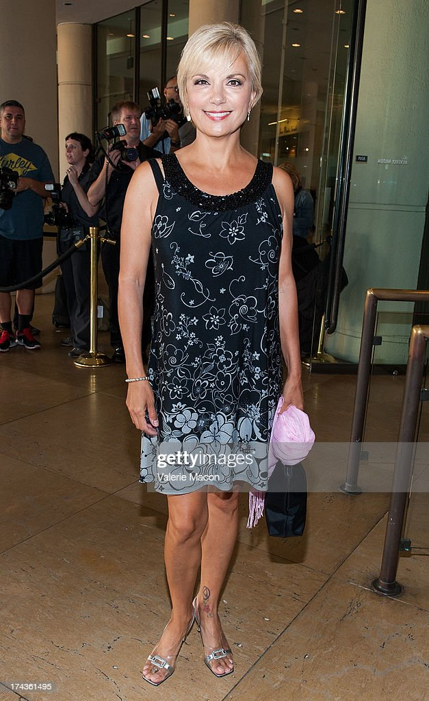 Teryl Rothery attends Hallmark Channel and Hallmark Movie Channel's '2013 Summer TCA' Press Gala at The Beverly Hilton Hotel on July 24, 2013 in Beverly Hills, California.
