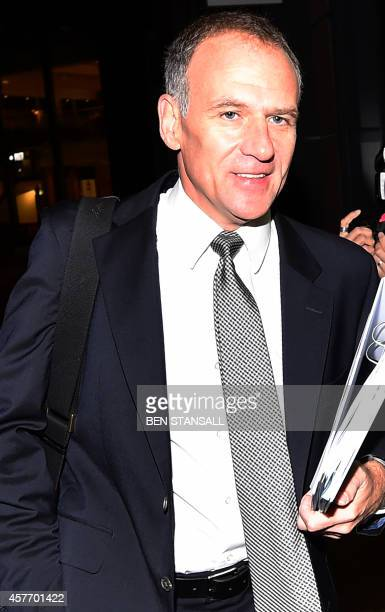 Tesco CEO Dave Lewis arrives for the Tesco interim result announcement in London on October 23 2014 An independent investigation found that Tesco had...
