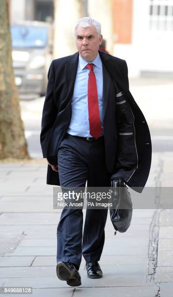 Tesco Technical Director Tim Smith arrives for a meeting with Environment Secretary Owen Paterson and other retailers at the Food Standards Agency at...