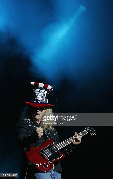 Tesla' Frank Hannon performs at Universal Amphitheatre on November 26 2004 in Universal City California