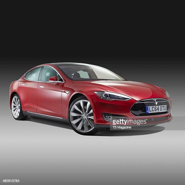 A Tesla Model S electric car taken on January 22 2015