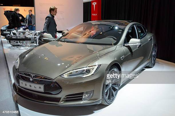 Tesla Model S full electric luxury car