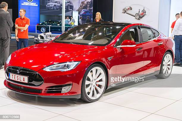 Tesla Model S P90D full electric luxury car