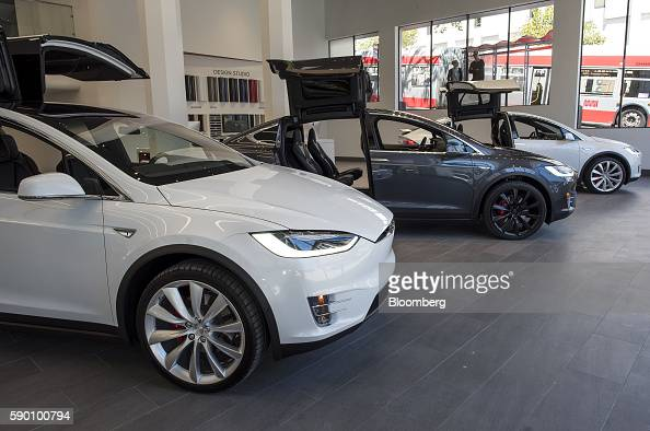 Tesla Model X Stock Photos And Pictures Getty Images