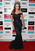 Tess Alexander Miss World Australia 2015 attends the Miss World Australia 2016 National Final at Crown Palladium on July 22 2016 in Melbourne...