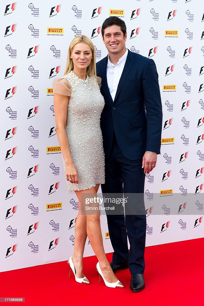 <a gi-track='captionPersonalityLinkClicked' href=/galleries/search?phrase=Tess+Daly&family=editorial&specificpeople=211541 ng-click='$event.stopPropagation()'>Tess Daly</a> and <a gi-track='captionPersonalityLinkClicked' href=/galleries/search?phrase=Vernon+Kay&family=editorial&specificpeople=211386 ng-click='$event.stopPropagation()'>Vernon Kay</a> attends The F1 Party at Old Billingsgate Market on June 26, 2013 in London, England.