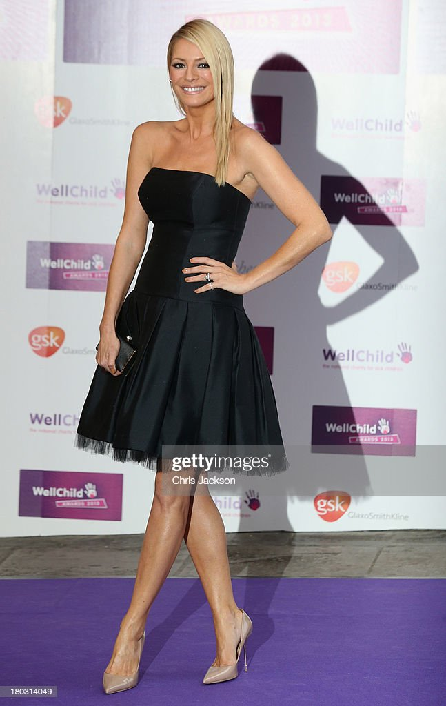 <a gi-track='captionPersonalityLinkClicked' href=/galleries/search?phrase=Tess+Daly&family=editorial&specificpeople=211541 ng-click='$event.stopPropagation()'>Tess Daly</a> arrives at the WellChild Awards at The Dorchester on September 11, 2013 in London, England.