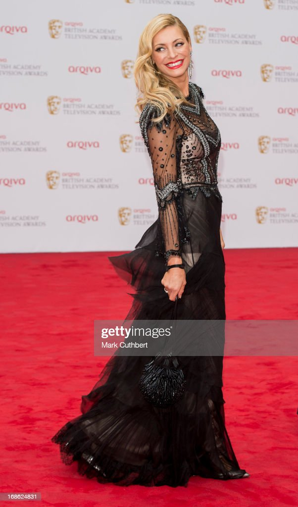 Tess Daly attends the Arqiva British Academy Television Awards 2013 at the Royal Festival Hall on May 12, 2013 in London, England.