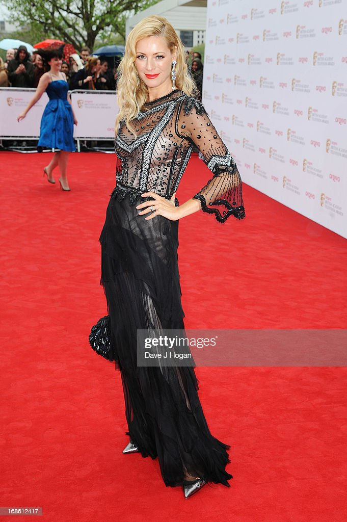 Tess Daly attends the BAFTA TV Awards 2013 at The Royal Festival Hall on May 12, 2013 in London, England.