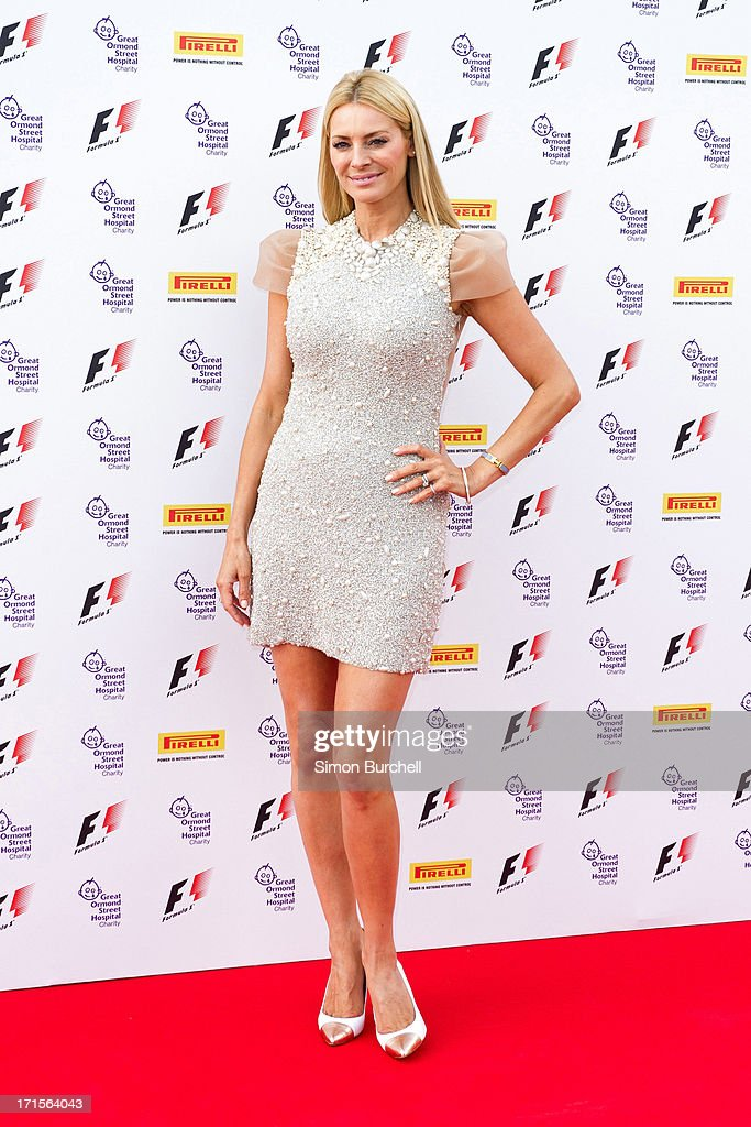 <a gi-track='captionPersonalityLinkClicked' href=/galleries/search?phrase=Tess+Daly&family=editorial&specificpeople=211541 ng-click='$event.stopPropagation()'>Tess Daly</a> attends The F1 Party at Old Billingsgate Market on June 26, 2013 in London, England.