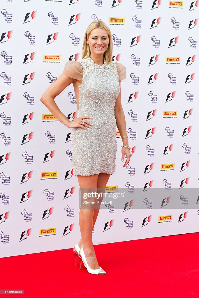 Tess Daly attends The F1 Party at Old Billingsgate Market on June 26, 2013 in London, England.