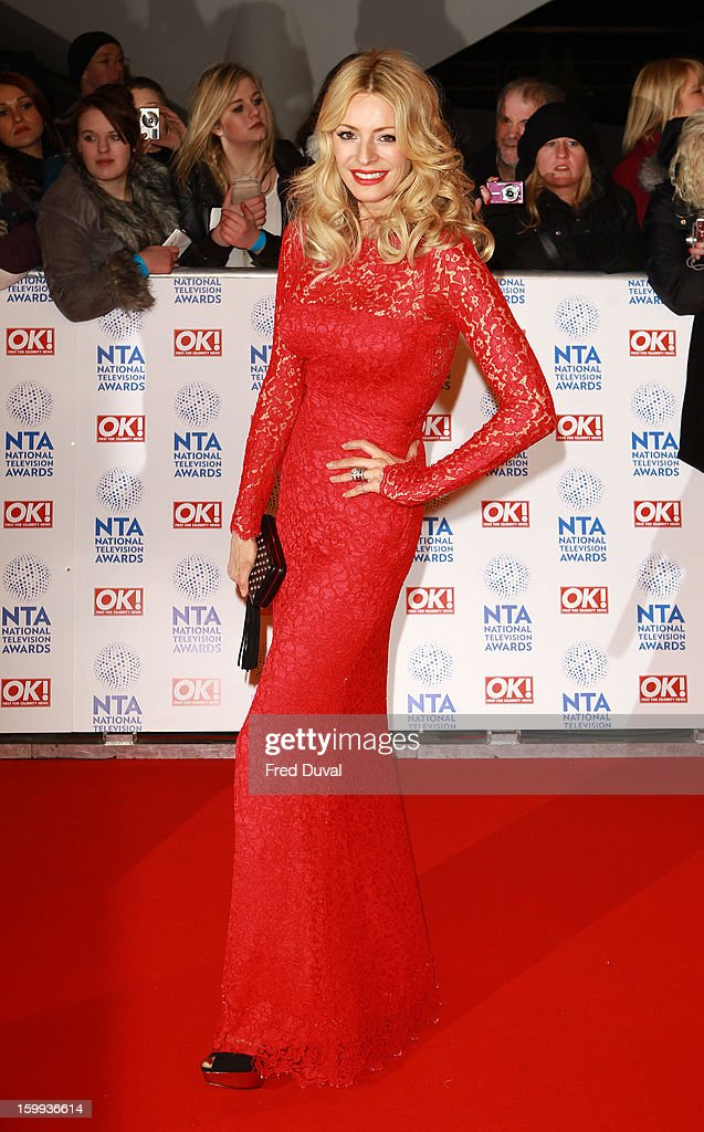 Tess Daly attends the National Television Awards at 02 Arena on January 23, 2013 in London, England.
