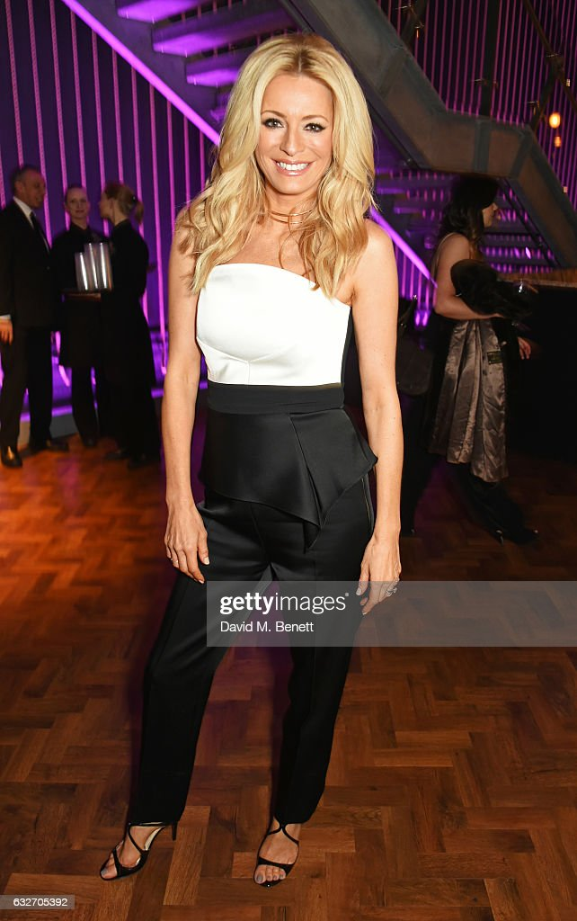 Tess Daly attends the National Television Awards cocktail reception at The O2 Arena on January 25, 2017 in London, England.